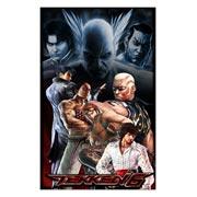 Неформатный постер Tekken. Размер: 60 х 95 см