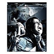 Хардпостер (на твёрдой основе) Resident Evil. Размер: 20 х 25 см