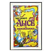 Хардпостер (на твёрдой основе) Alice in Wonderland. Размер: 20 х 30 см