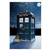Хардпостер (на твёрдой основе) Doctor Who. Размер: 20 х 30 см