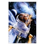 Хардпостер (на твёрдой основе) E.T. The Extra-Terrestrial. Размер: 20 х 30 см