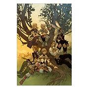 Хардпостер (на твёрдой основе) Final Fantasy. Размер: 20 х 30 см