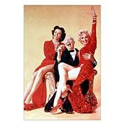 Купить хардпостеры (на твёрдой основе) Gentlemen Prefer Blondes