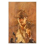 Хардпостер (на твёрдой основе) Indiana Jones. Размер: 20 х 30 см