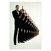 Хардпостер (на твёрдой основе) James Bond: A View to a Kill. Размер: 20 х 30 см