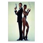 Купить хардпостеры (на твёрдой основе) James Bond: A View to a Kill