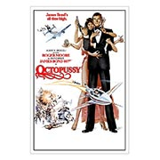 Хардпостер (на твёрдой основе) James Bond: Octopussy. Размер: 20 х 30 см