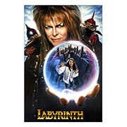 Хардпостер (на твёрдой основе) Labyrinth. Размер: 20 х 30 см
