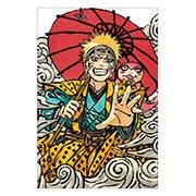 Купить хардпостеры (на твёрдой основе) Naruto