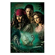 Хардпостер (на твёрдой основе) Pirates of the Caribbean. Размер: 20 х 30 см