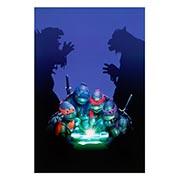 Хардпостер (на твёрдой основе) Ninja Turtles. Размер: 20 х 30 см