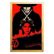 Хардпостер (на твёрдой основе) V for Vendetta. Размер: 20 х 30 см
