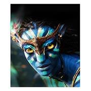 Хардпостер (на твёрдой основе) Avatar. Размер: 25 х 30 см