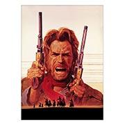 Хардпостер (на твёрдой основе) Outlaw Josey Wales. Размер: 25 х 35 см