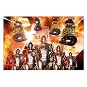 Хардпостер (на твёрдой основе) Doctor Who. Размер: 30 х 20 см