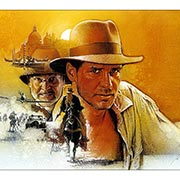 Хардпостер (на твёрдой основе) Indiana Jones. Размер: 30 х 20 см
