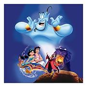 Купить хардпостеры (на твёрдой основе) Aladdin