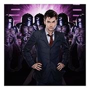 Хардпостер (на твёрдой основе) Doctor Who. Размер: 30 х 30 см