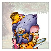 Купить хардпостеры (на твёрдой основе) Winnie the Pooh