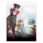 Купить хардпостеры (на твёрдой основе) Alice in Wonderland