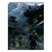 Купить хардпостеры (на твёрдой основе) Assassin's Creed