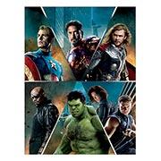 Хардпостер (на твёрдой основе) Avengers. Размер: 30 х 40 см