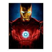 Хардпостер (на твёрдой основе) Iron Man. Размер: 30 х 40 см