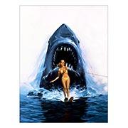 Купить хардпостеры (на твёрдой основе) Jaws