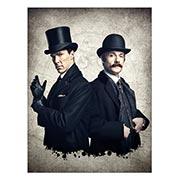 Купить хардпостеры (на твёрдой основе) Sherlock BBC