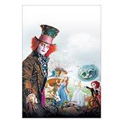 Хардпостер (на твёрдой основе) Alice in Wonderland. Размер: 30 х 45 см