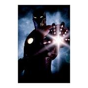 Хардпостер (на твёрдой основе) Iron Man. Размер: 30 х 45 см