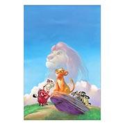 Хардпостер (на твёрдой основе) Lion King. Размер: 30 х 45 см