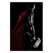 Хардпостер (на твёрдой основе) Thor. Размер: 30 х 45 см