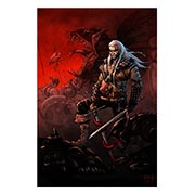 Купить хардпостеры (на твёрдой основе) Witcher