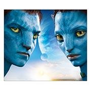 Хардпостер (на твёрдой основе) Avatar. Размер: 35 х 30 см