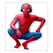 Хардпостер (на твёрдой основе) Spider-man. Размер: 35 х 40 см