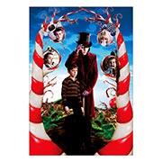 Хардпостер (на твёрдой основе) Charlie and the Chocolate Factory. Размер: 35 х 50 см