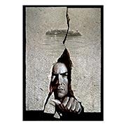 Хардпостер (на твёрдой основе) Escape from Alcatraz. Размер: 35 х 50 см