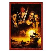 Хардпостер (на твёрдой основе) Pirates of the Caribbean. Размер: 35 х 50 см