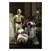 Хардпостер (на твёрдой основе) Star Wars. Размер: 35 х 50 см