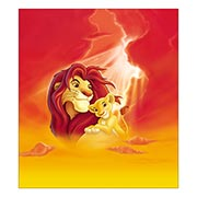 Хардпостер (на твёрдой основе) Lion King. Размер: 40 х 45 см