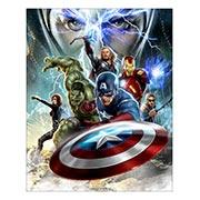 Хардпостер (на твёрдой основе) Avengers. Размер: 40 х 50 см