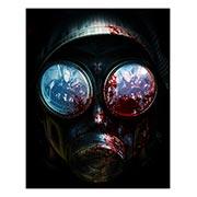 Хардпостер (на твёрдой основе) Resident Evil. Размер: 40 х 50 см