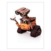 Хардпостер (на твёрдой основе) Wall-E. Размер: 40 х 50 см