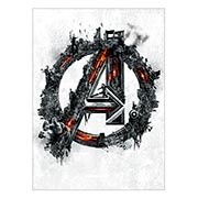 Хардпостер (на твёрдой основе) Avengers. Размер: 40 х 55 см