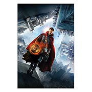 Хардпостер (на твёрдой основе) Doctor Strange. Размер: 40 х 60 см