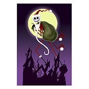 Хардпостер (на твёрдой основе) Nightmare Before Christmas. Размер: 40 х 60 см