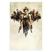 Хардпостер (на твёрдой основе) Resident Evil. Размер: 40 х 60 см
