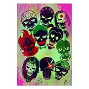 Хардпостер (на твёрдой основе) Suicide Squad. Размер: 40 х 60 см