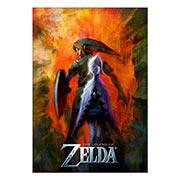 Купить хардпостеры (на твёрдой основе) Legend of Zelda
